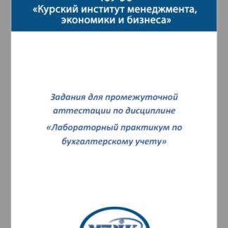 Лабораторный практикум по бухучету ТМ-009/191-1