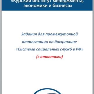 Система социальных служб в РФ