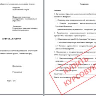 Курсовая МЭБИК тема 41 Исследование внешнеэкономической деятельности субъектов РФ